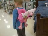 A Girl, a Boy, and a Pink Flamingo NamedDot