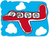 Flying With The FourKids